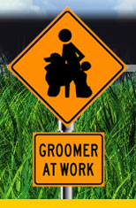 Groomer at Work